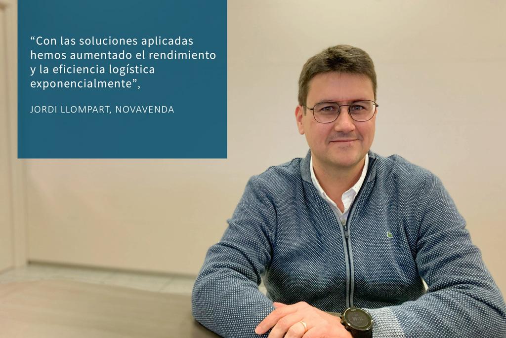 Entrevista mejora logística almacenes Novavenda