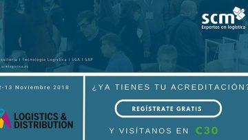 Pide ya tu entrada para Logistics Madrid 2018