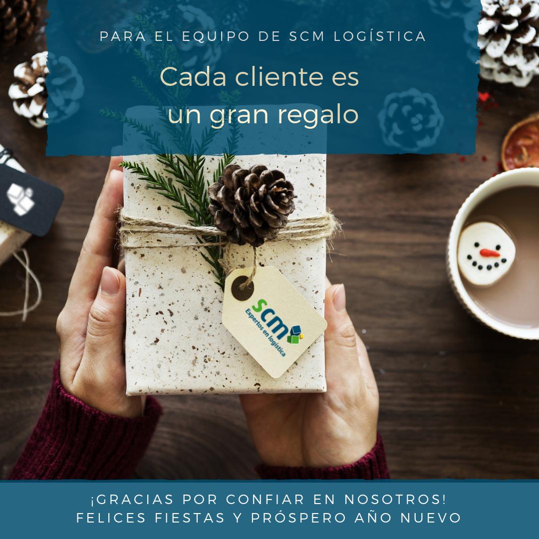 Felicitacion Navidad 2018 2019 SCM Logistica