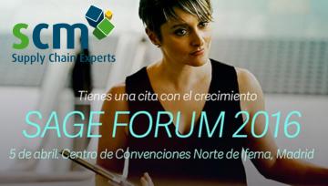 SCM estará presente en el evento más esperado… SAGE FORUM 2016!